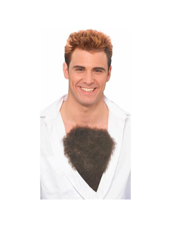 Adult Hairy Chest Costume Prop-COSTUMEISH