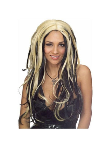 Blonde and Black Wig