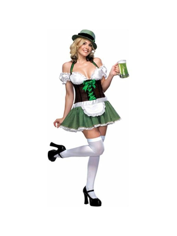 Adult Sexy Lucky Charm Costume-COSTUMEISH