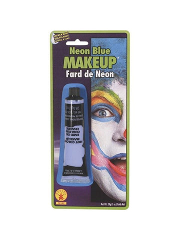 Blue Neon Make Up-COSTUMEISH