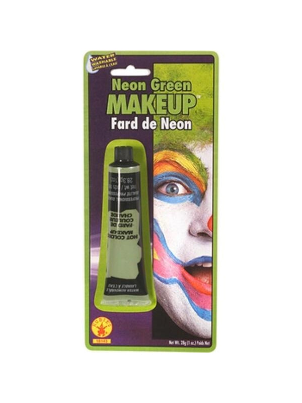 Green Neon Make Up-COSTUMEISH