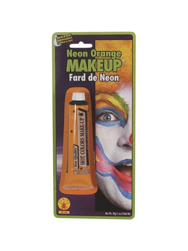 Orange Neon Make Up-COSTUMEISH