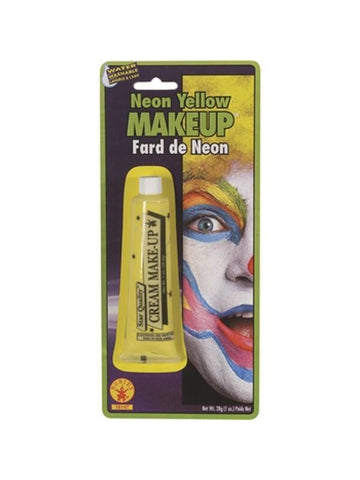 Yellow Neon Make Up