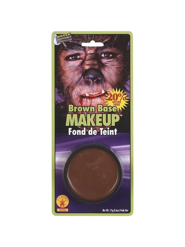 Brown Grease Make Up-COSTUMEISH