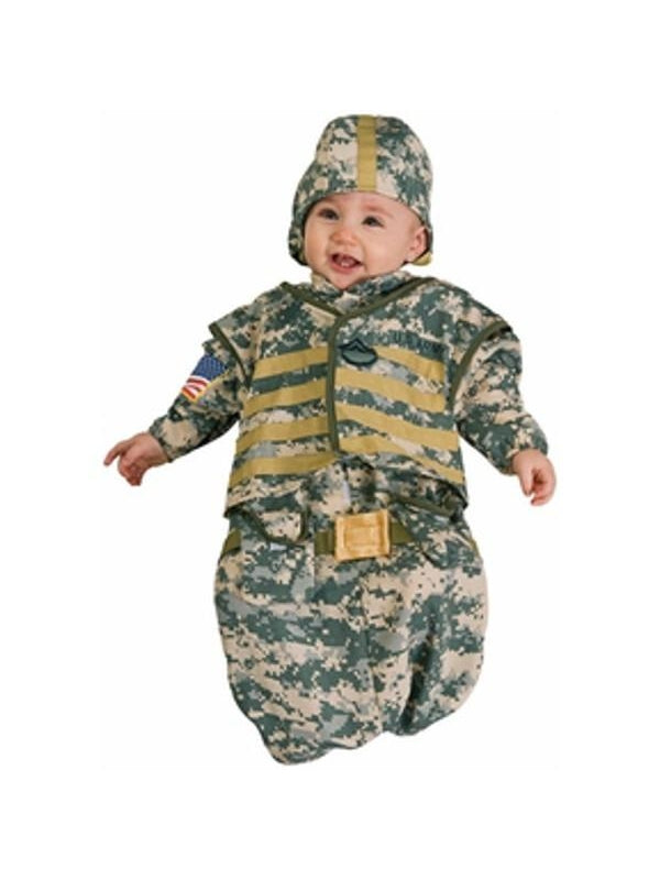 Baby Bunting Soldier Costume-COSTUMEISH