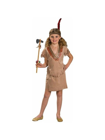 Childs Indian Girl Costume