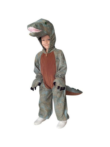 Childs Deluxe Dinosaur Costume-COSTUMEISH