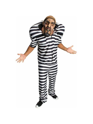 Adult Oversized Prisoner Costume-COSTUMEISH