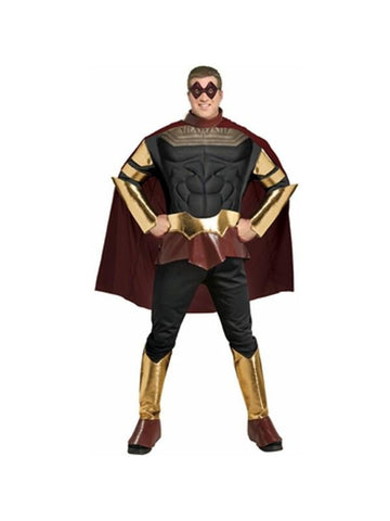 Adult Plus Size Watchmen Ozymandias Costume-COSTUMEISH