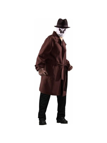 Adult Plus Size Watchmen Rorschach Costume