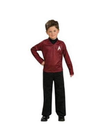 Childs Star Trek Red Shirt Costume-COSTUMEISH