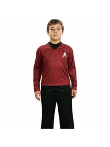 Child's Star Trek Deluxe Red Shirt Costume-COSTUMEISH