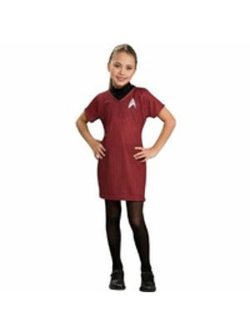 Child's Star Trek Deluxe Red Dress Costume-COSTUMEISH