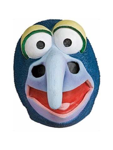 The Muppets Deluxe Gonzo Latex Mask-COSTUMEISH