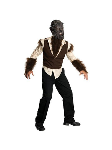 Adult The Wolfman Costume-COSTUMEISH
