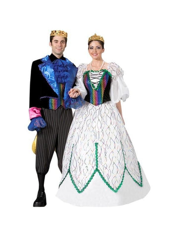 Adult Mardi Gras King Theater Costume