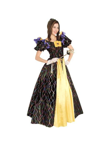 Adult Mardi Gras Ball Queen Theater Costume