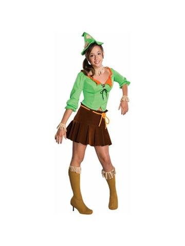 Teen Size Wizard Of Oz Scarecrow Costume