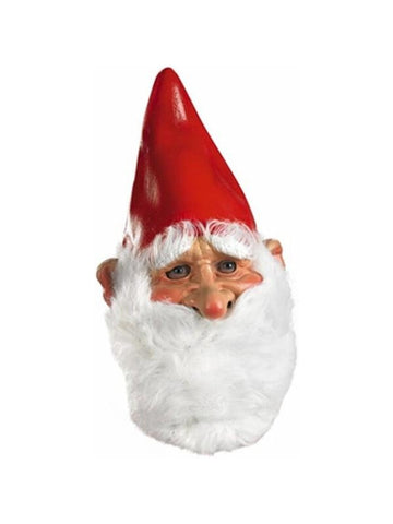 Adult Vinyl Gnome Mask-COSTUMEISH