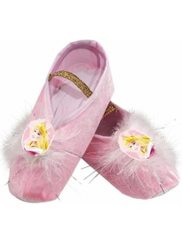 Child's Sleeping Beauty Ballet Slippers-COSTUMEISH