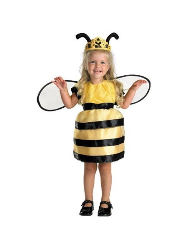 Toddler Cute Queen Bee Costume-COSTUMEISH