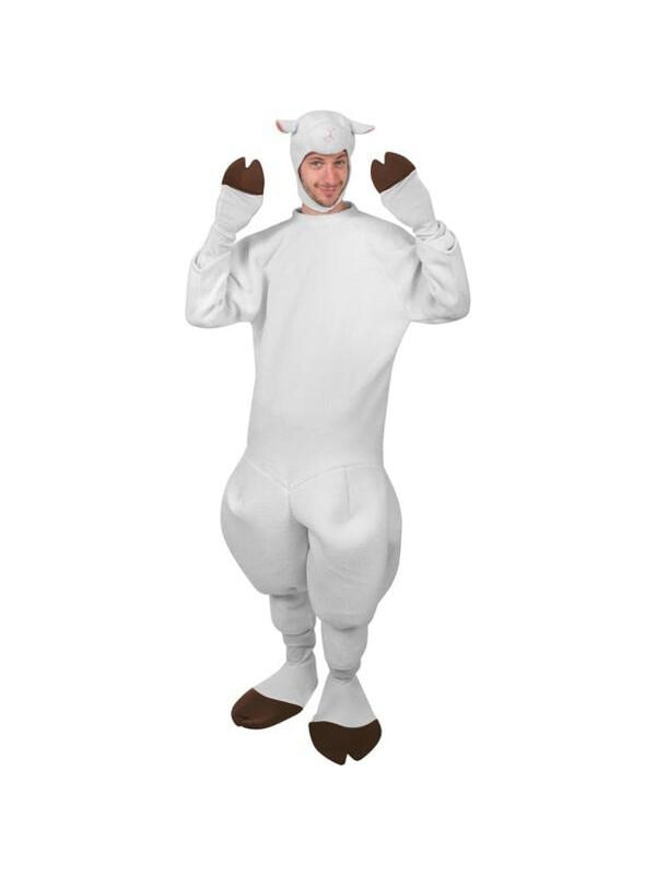 Adult Sheep Costume-COSTUMEISH