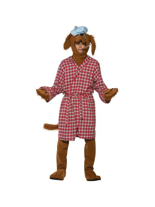 Adult Sick As A Dog Costume-COSTUMEISH