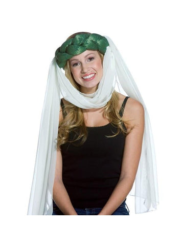 Adult Green Maiden Costume Hat
