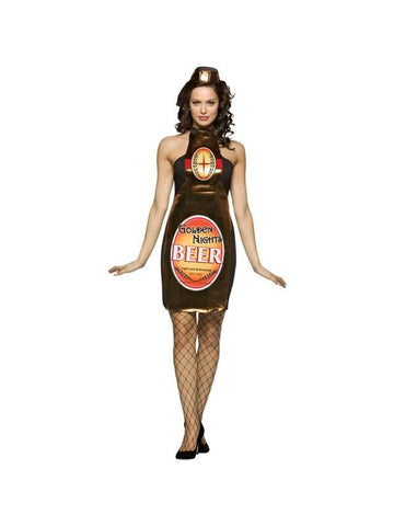 Adult Sexy Beer Bottle Costume-COSTUMEISH