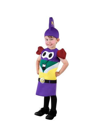 Toddler Veggie Tales Larry Boy Costume-COSTUMEISH