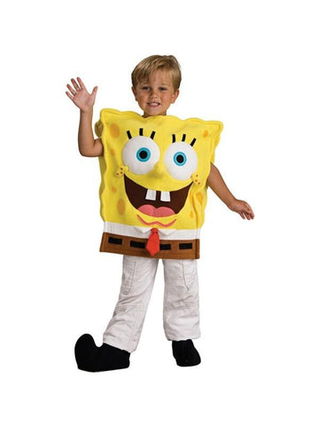 Childs Deluxe Spongebob Squarepants Costume-COSTUMEISH