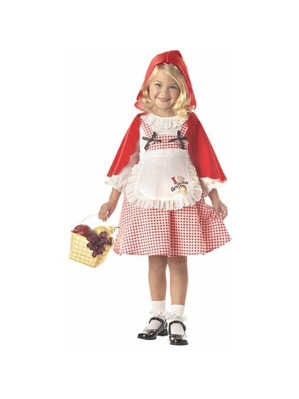Toddler Red Riding Hood Costume-COSTUMEISH