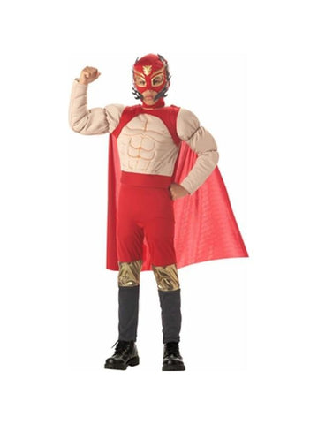 Childs Mexican Luchadore Wrestler Costume