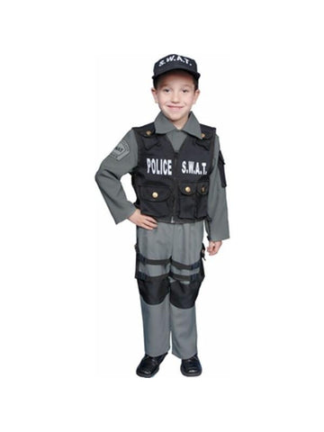 Child's SWAT Costume-COSTUMEISH