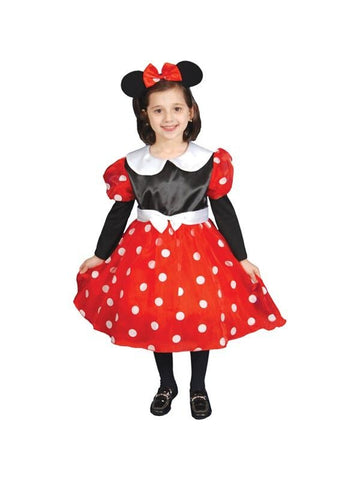 Child's Deluxe Minnie Mouse Costume