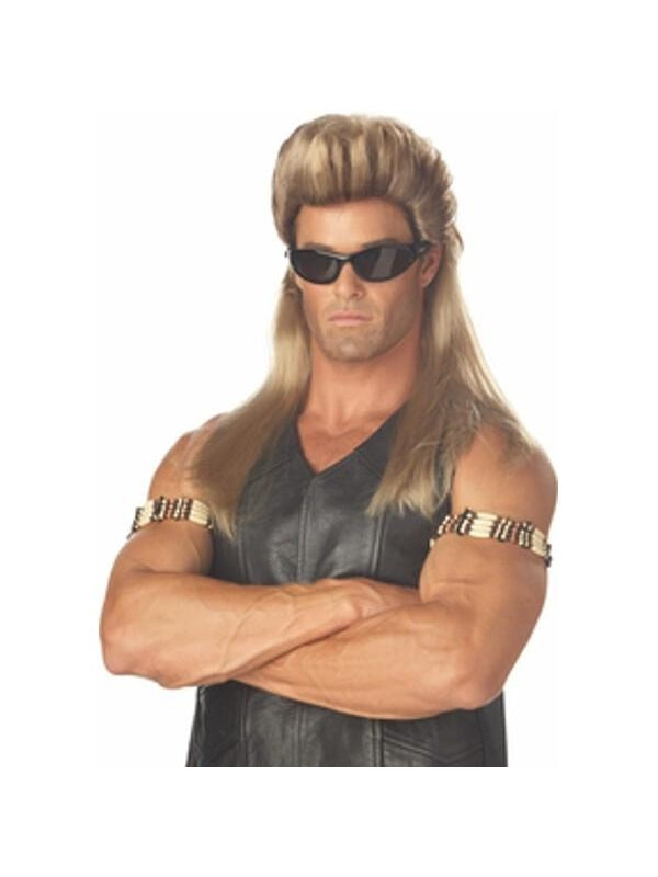 Adult Dog The Bounty Hunter Costume Wig-COSTUMEISH