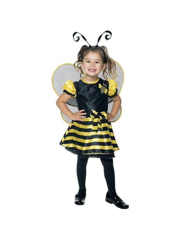 Toddler Cute Bumble Bee Costume-COSTUMEISH