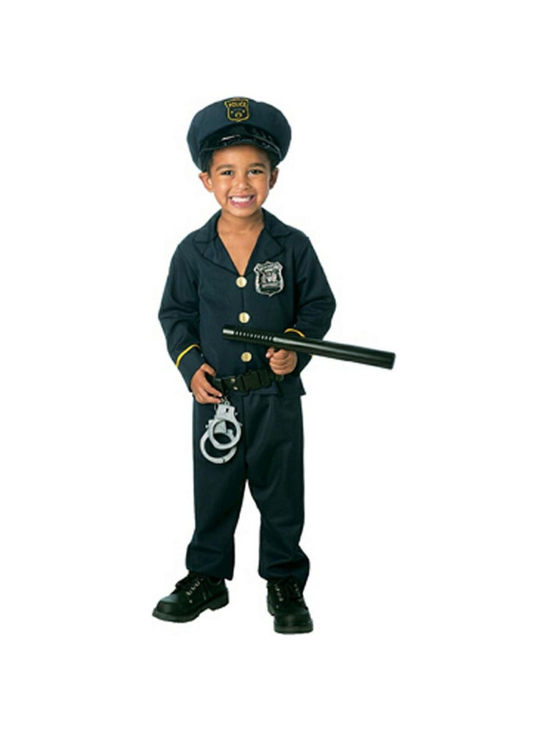 Toddler Policeman Costume-COSTUMEISH