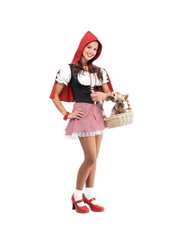 Teen Little Red Riding Hood Costume-COSTUMEISH