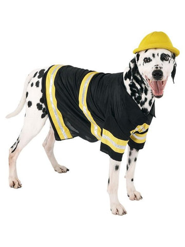 Firefighter Dog Costume-COSTUMEISH