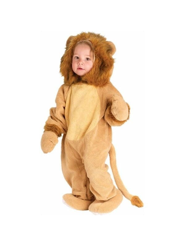Toddler Cuddly Lion Costume-COSTUMEISH