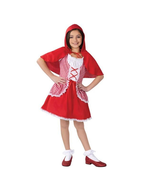 Child's Classic Little Red Riding Hood Costume-COSTUMEISH