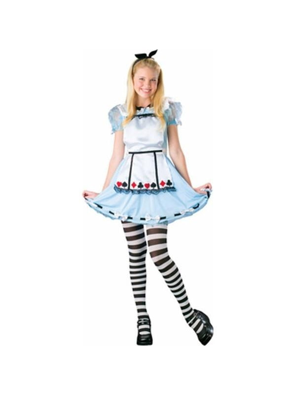Preteen Girl's Alice Costume-COSTUMEISH