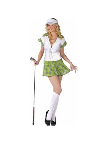 Adult Sexy Golfer Costume-COSTUMEISH
