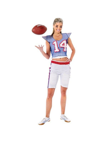 Adult Womens Football Player Costume