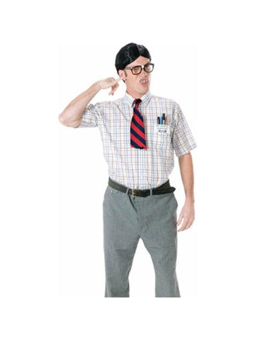 Adult Nerd Guy Costume Kit