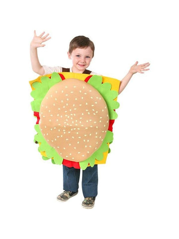 Child Hamburger Costume-COSTUMEISH