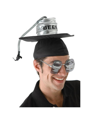 Keg Graduation Cap-COSTUMEISH