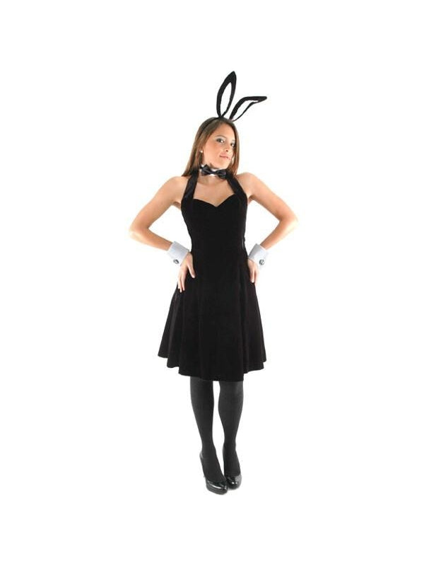 Adult Sexy Bunny Costume Kit-COSTUMEISH