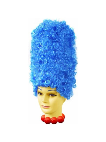 Deluxe Blue Marge Costume Wig